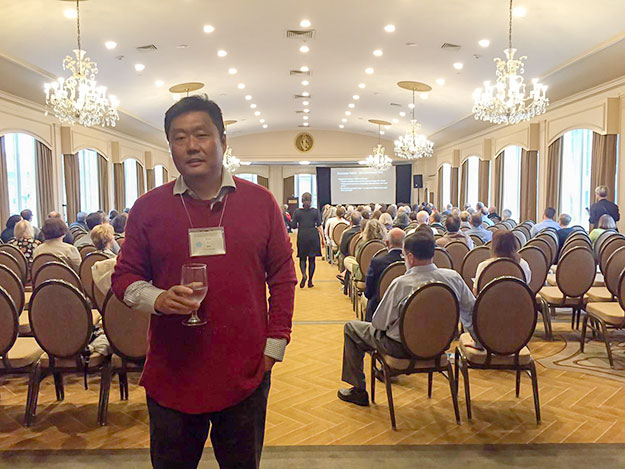 参加IAPSP年度国际会议