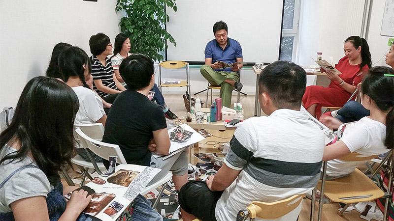 心理培训,美术表达团体