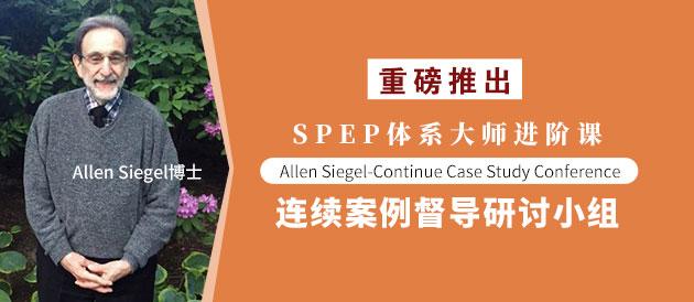 SPEP体系大师进阶课:Allen Siegel-Continue Case Study Conference|连续案例督导研讨小组