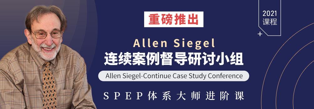 Allen Siegel连续案例督导研讨小组